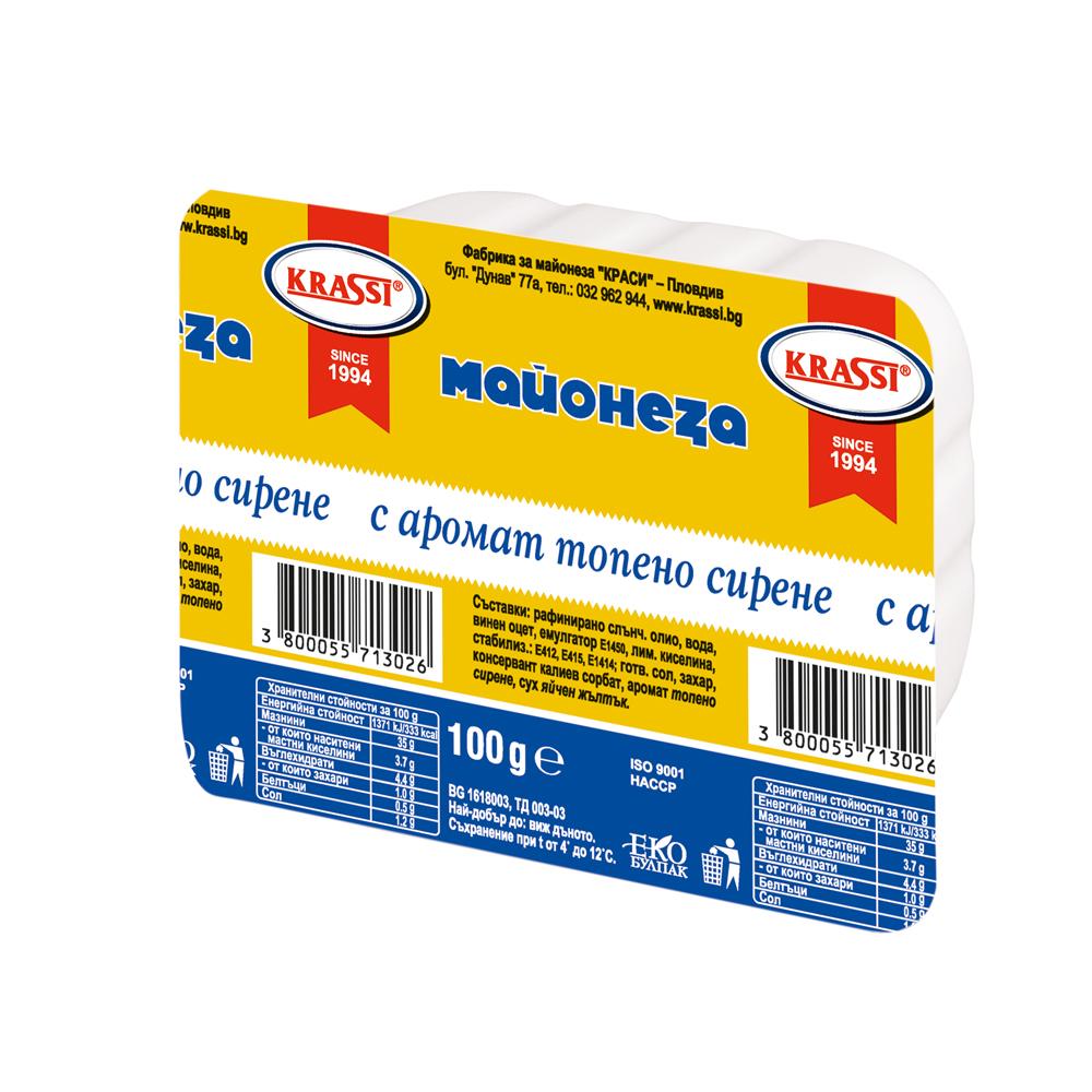 Майонеза с топено сирене